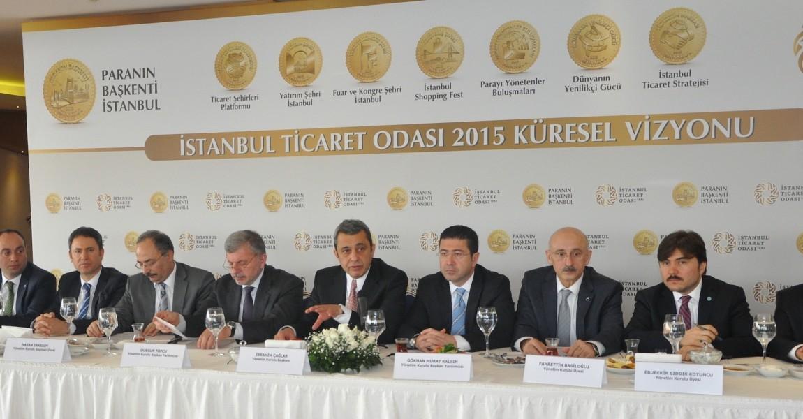"""İstanbul Ticaret Odası """"Küresel Vizyon"""" Projesi"""